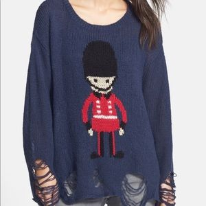Wildfox Toy Soldier Sweater